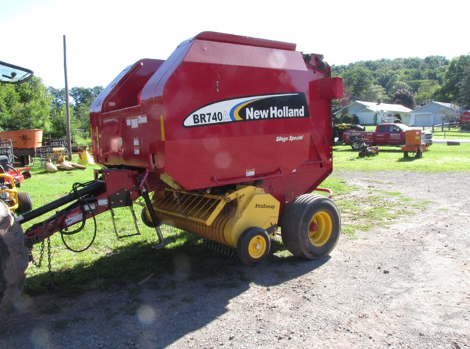 2006 New Holland BR740A Baler-Round For Sale