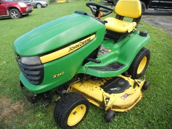 2010 John Deere X340 Lawn Mower For Sale