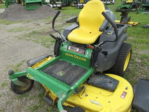 2009 John Deere Z465 Zero Turn Mower For Sale