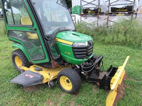 2014 John Deere X758 Lawn Mower For Sale