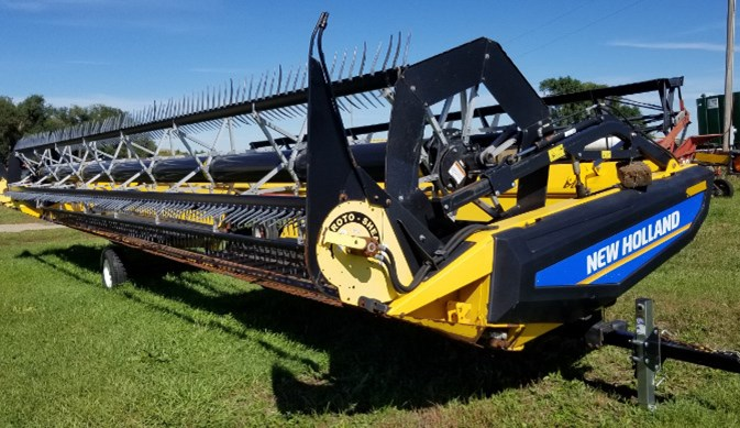2014 New Holland 436HB Header-Draper/Flex For Sale