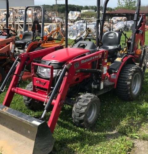 Mahindra Max 25 Tractor - Compact For Sale