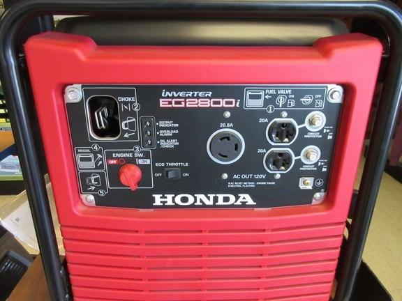 2017 Honda EG2800IA Generator For Sale