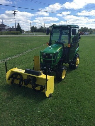 2018 John Deere 2025R Tractor For Sale