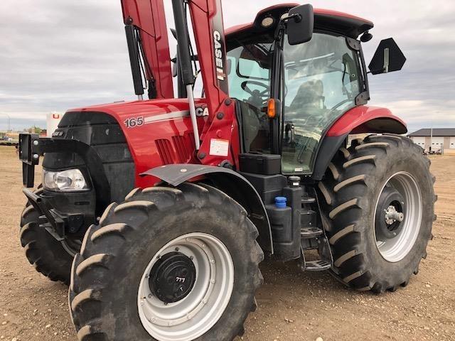 2017 Case IH Puma 165 T4B Tractor For Sale