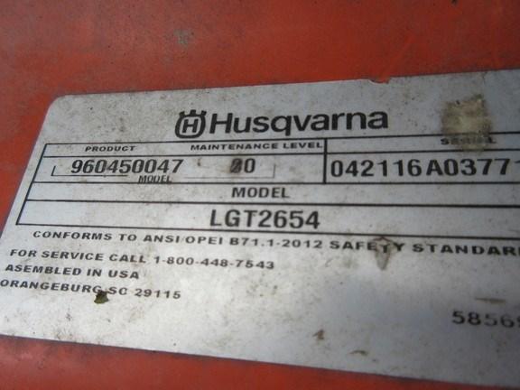 2015 Husqvarna LGT2654 Image 8
