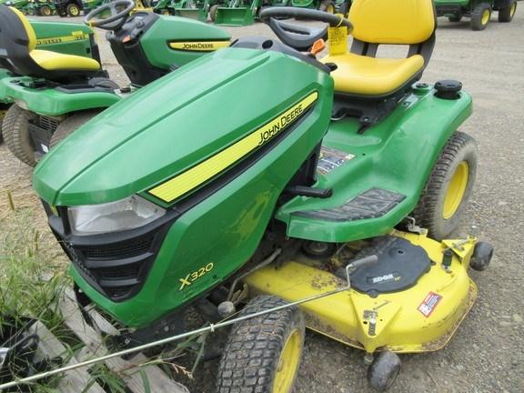 2014 John Deere X320 Lawn Mower For Sale