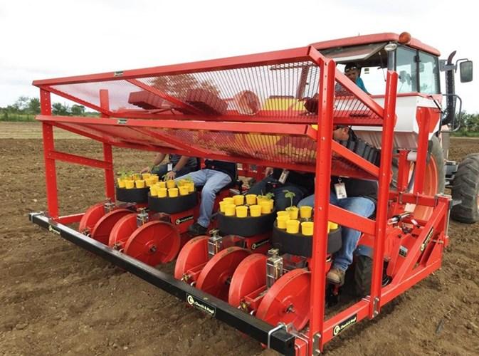 2019 Checchi & Magli Trium 4 row Hemp Transplanter Planter For Sale