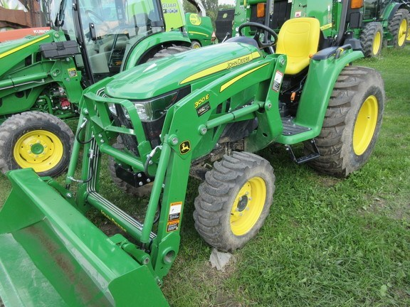 2018 John Deere 3038E Tractor - Compact Utility For Sale