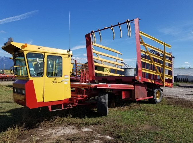 1999 New Holland 1089 Bale Wagon-Self Propelled For Sale