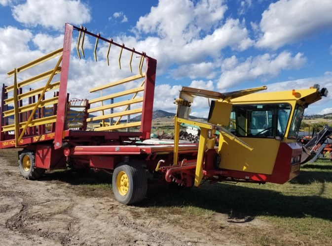 2001 New Holland 1089 Bale Wagon-Self Propelled For Sale