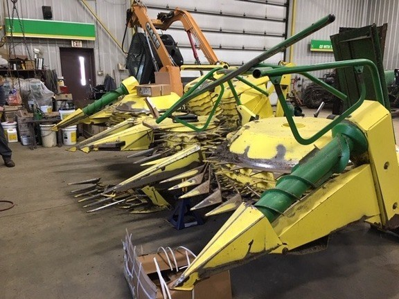 2009 John Deere 676 Forage Head-Rotary For Sale