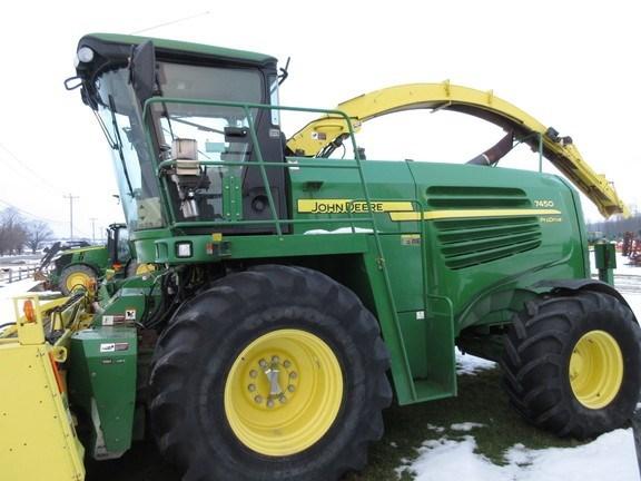 2011 John Deere 7450 Forage Harvester-Self Propelled For Sale