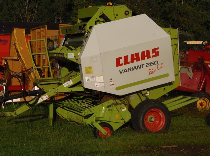 2007 CLAAS 260 Baler-Round For Sale