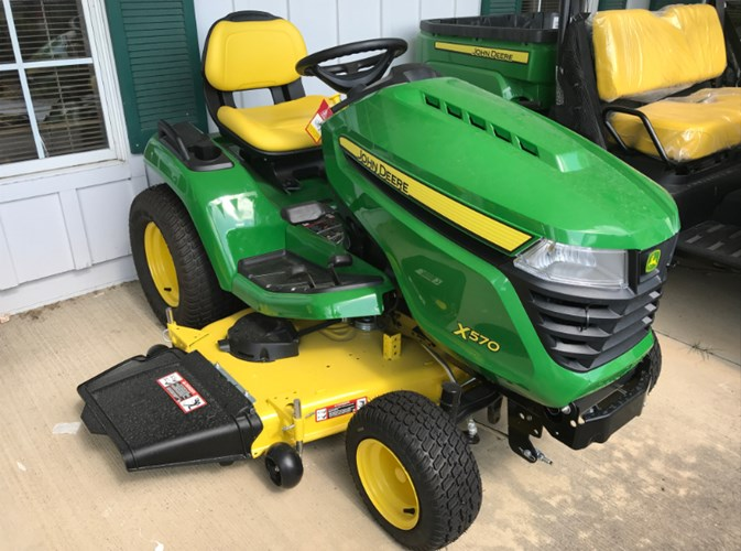 John Deere X570 Riding Mower For Sale