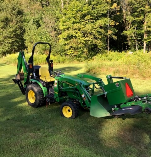 2016 John Deere 2025R Tractor - Compact For Sale