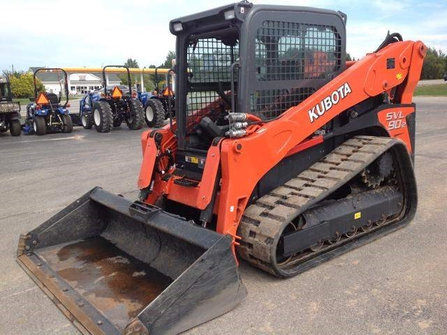 2014 Kubota SVL902HFC Skid Steer-Track For Sale