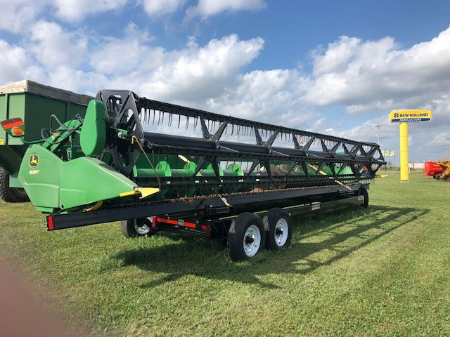 2010 John Deere 630F Header-Auger/Flex For Sale
