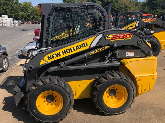 New Holland L220 T4B Skid Steer For Sale