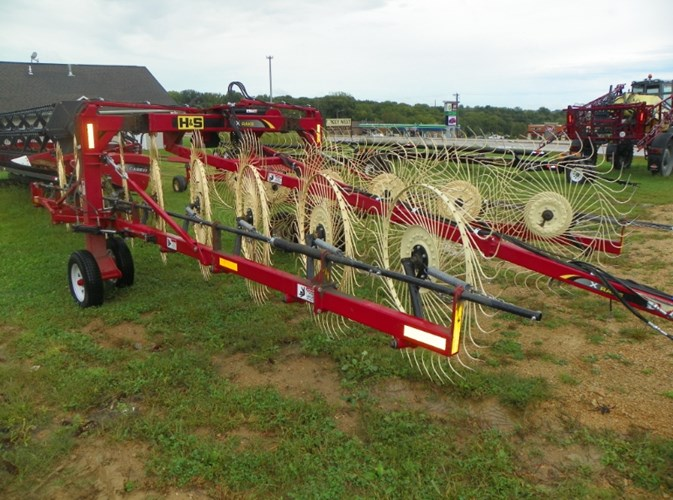 2014 H & S X-10 Hay Rake-Wheel For Sale