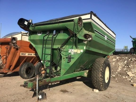 J & M 750-14 Grain Cart For Sale