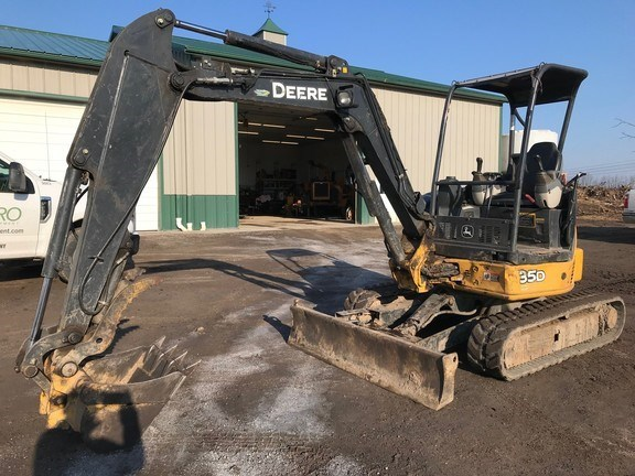 2012 John Deere 35D Excavator-Mini For Sale