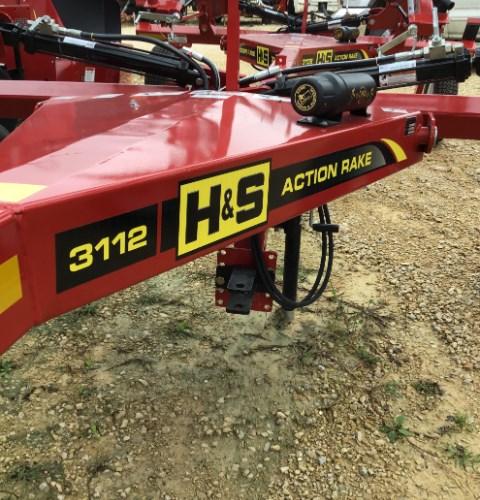 2019 H & S 3112 Hay Rake-Wheel For Sale