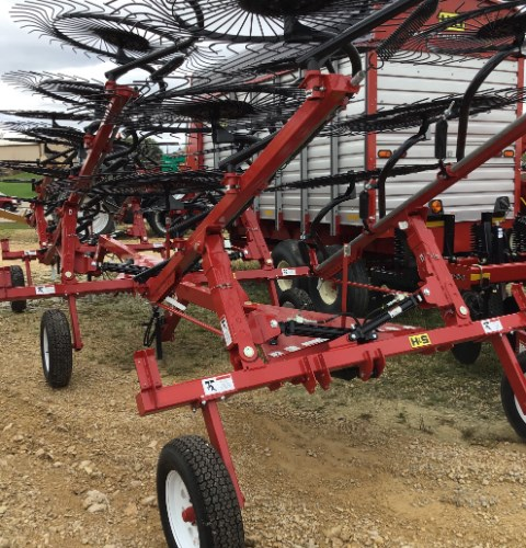 2017 H & S 3108 Hay Rake-Wheel For Sale