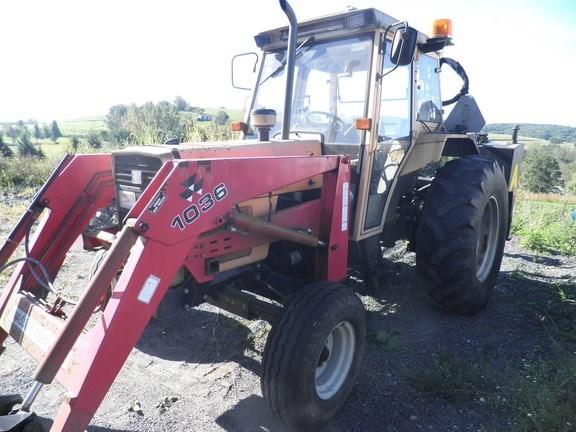 1992 Massey Ferguson 393 Tractor - Utility For Sale