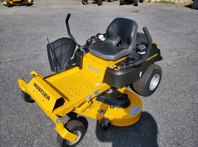 2019 Hustler Raptor 52 Zero Turn Mower For Sale