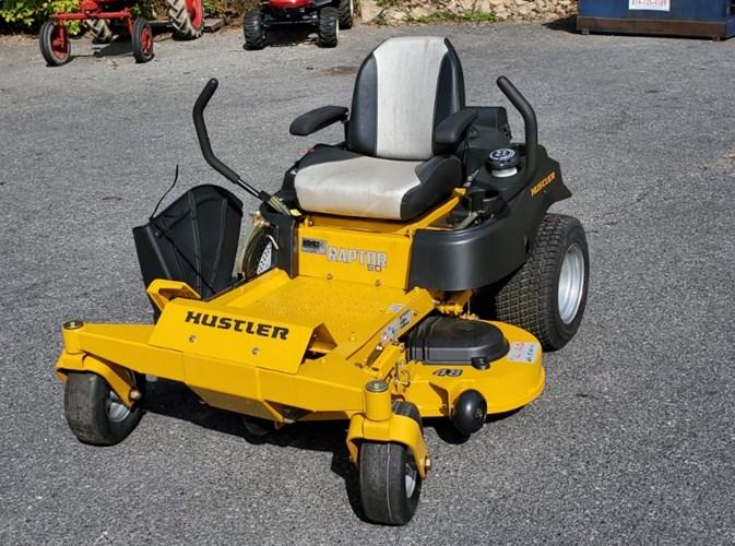 2019 Hustler Raptor SD 48 Zero Turn Mower For Sale