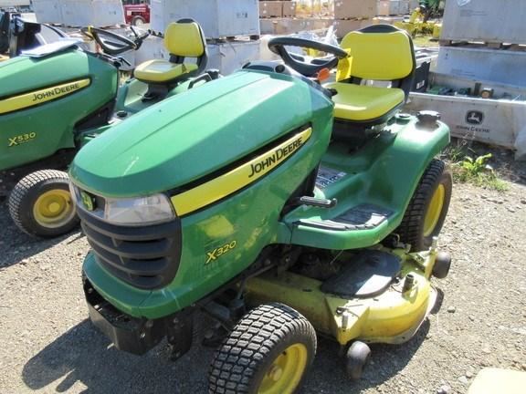 2012 John Deere X320 Lawn Mower For Sale