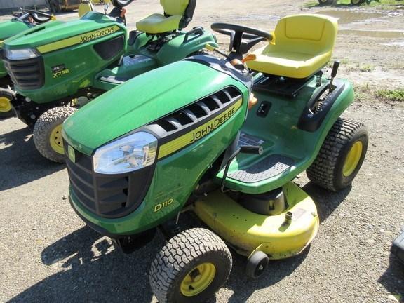 2013 John Deere D110 Lawn Mower For Sale