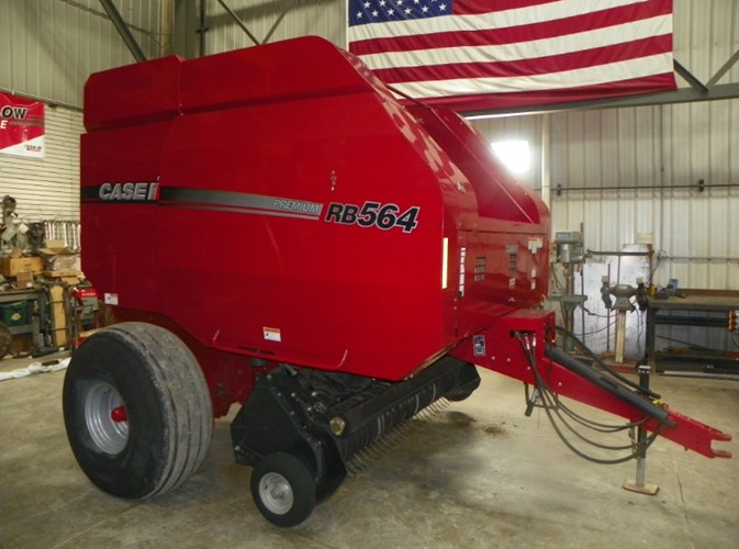 2013 Case IH RB564 Baler-Round For Sale