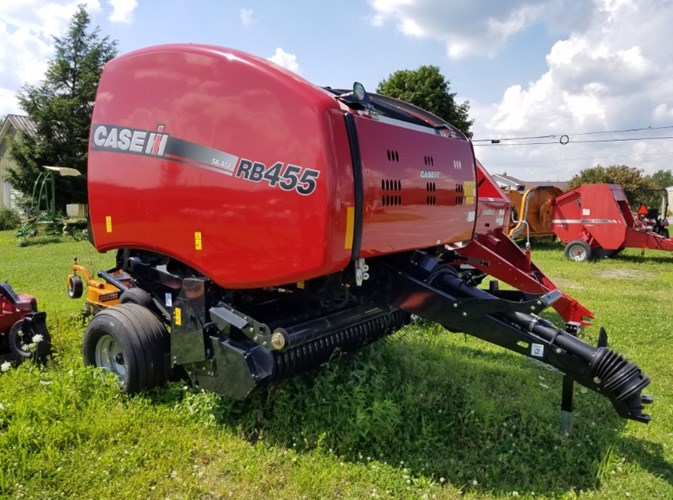 2019 Case IH RB455 Baler-Round For Sale
