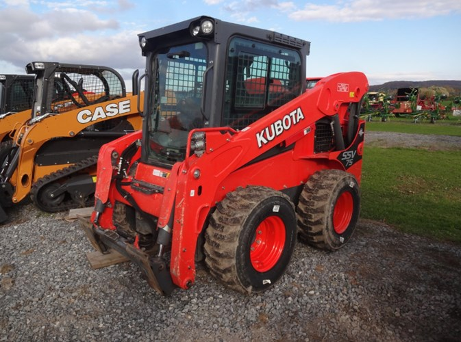 2017 Kubota SSV75PHC Skid Steer For Sale