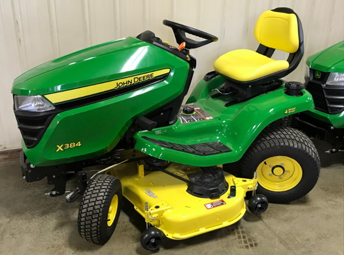 2020 John Deere X384 Riding Mower For Sale