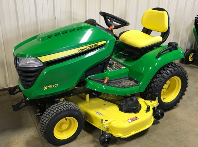2020 John Deere X580 Riding Mower For Sale