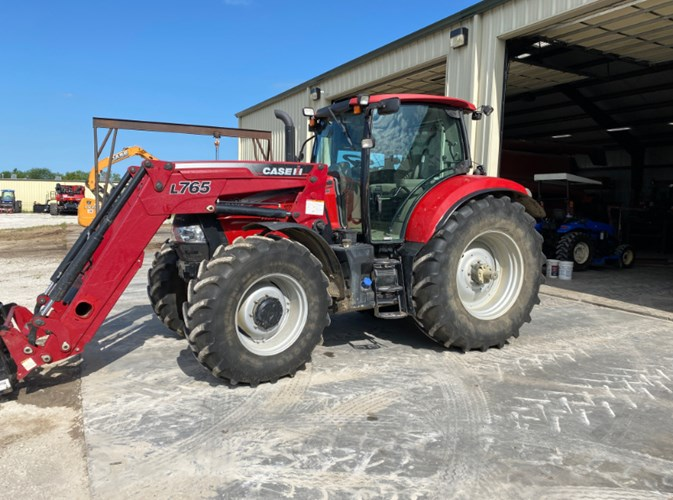2014 Case IH MAXXUM 140 Tractor For Sale