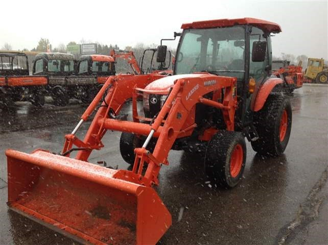 2015 Kubota L6060HSTC Tractor For Sale