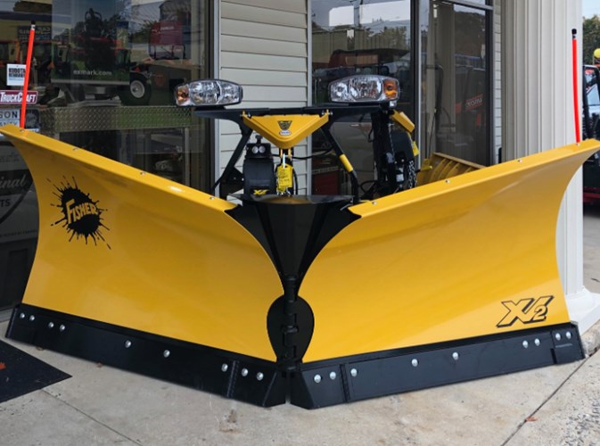 Fisher XV2 Snow Plow Snow Equipment For Sale