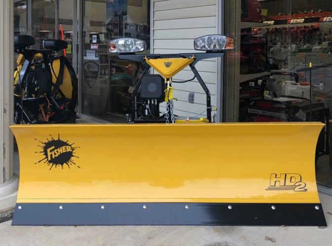 Fisher HD2 Snow Plow Snow Equipment For Sale