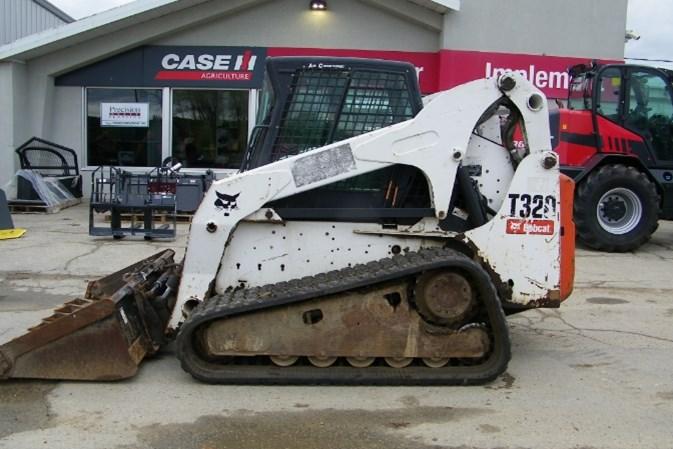 2008 Bobcat T320 Skid Steer-Track For Sale