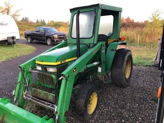 1995 John Deere 870 Compact Utility Tractor For Sale
