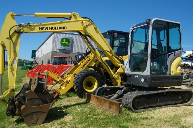 2013 New Holland E55BX Excavator-Mini For Sale