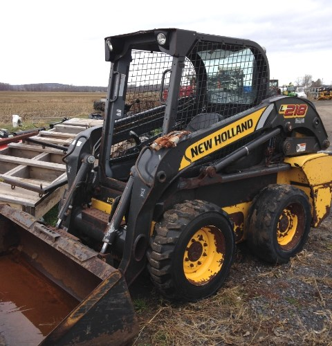 2012 New Holland L218 Skid Steer For Sale