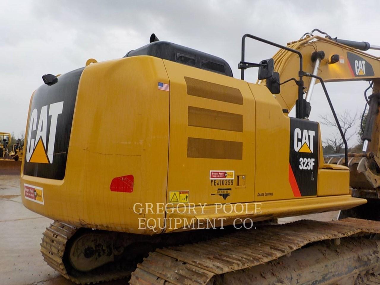 2017 Caterpillar 323F L Image 11