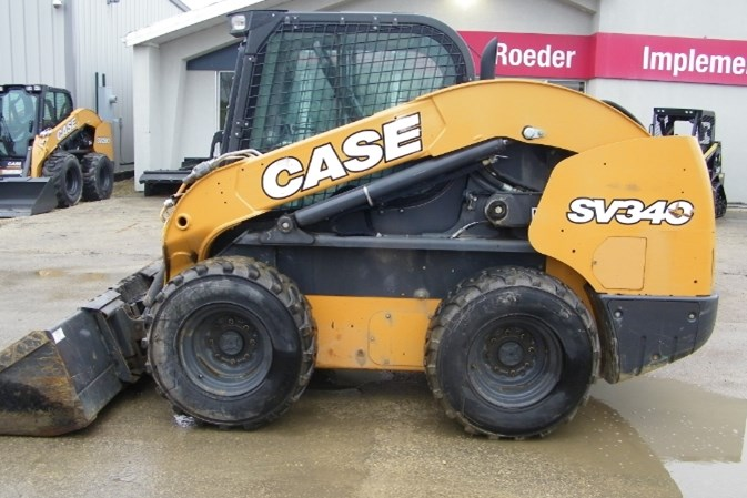 2016 Case SV340 Skid Steer For Sale