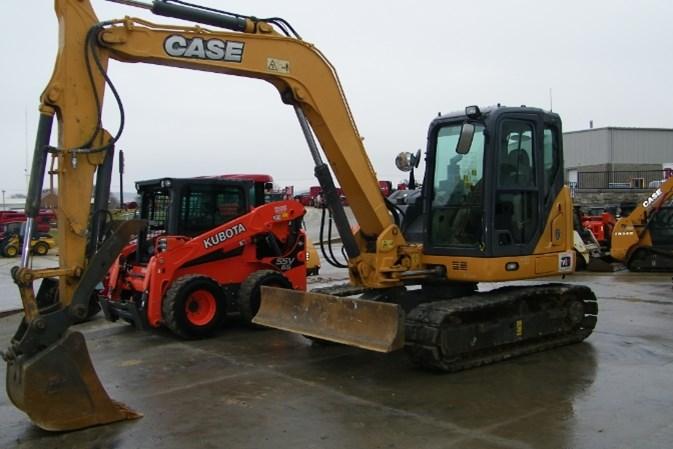 2016 Case CX80C Excavator-Mini For Sale