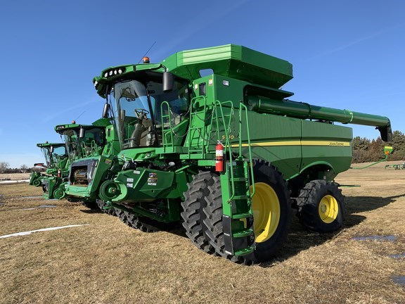 2018 John Deere S770 Combine For Sale